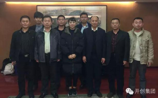 青岛易和盛世项目数据分析师事务所有限公司总经理杨海波等也陪同访问